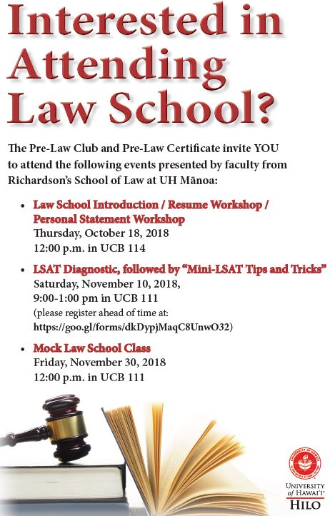 Mock Law School Class At Uh Hilo William S Richardson